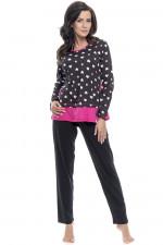 Dn-nightwear PM.9075 piżama pink