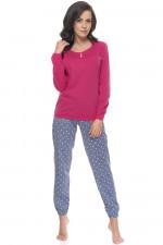 Dn-nightwear PM.9089 piżama pink