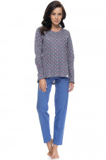 Dn-nightwear PM.9096 piżama royal blue