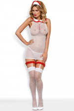 Obsessive Caregirl kostium biały