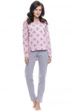 Dn-nightwear PM.9091 piżama sweet pink