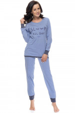 Dn-nightwear PM.9107 piżama light jeans