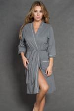 Italian Fashion Bianca r. 3/4 szlafrok melanż