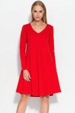 Makadamia M326 sukienka czerwony