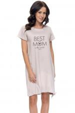 Dn-nightwear TCB.9081 koszula sweet grey