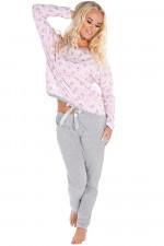 Italian Fashion Ada dł.r. dł.sp. piżama różowy
