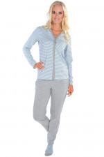 Italian Fashion Omena dł.r. dł.sp. piżama niebieski/melanż