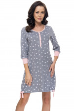 Dn-nightwear TM.9104 koszula dark grey-p