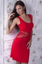 Gaia by Night NKV 102 Koszulka czerwony