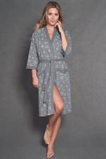 Italian Fashion Elsa r.3/4 szlafrok melanż