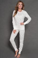 Italian Fashion Kira dł.r. dł.sp. piżama ecru