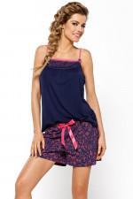 Nipplex Berta piżama granatowo-różowy