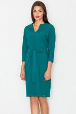 Figl M526 sukienka zielony