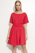 Makadamia M334 sukienka czerwony