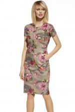 Ennywear 230027 sukienka beż-róż