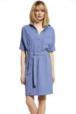 Ennywear 230050 sukienka niebieski