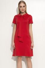 Makadamia M351 sukienka czerwony