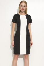 Makadamia M356 sukienka czarny