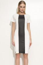 Makadamia M356 sukienka ecru
