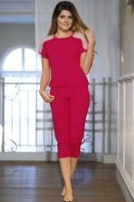 Babella Gracja piżama jasny rubin