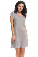 Dn-nightwear TCB.9117 koszula dark grey