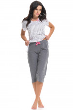 Dn-nightwear PM.9239 piżama glitter