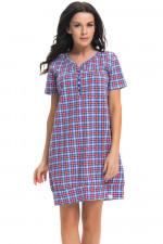 Dn-nightwear TM.9241 koszula red blue