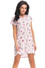 Dn-nightwear TM.9238 koszula lady pink