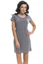 Dn-nightwear TM.9209 koszula dark grey