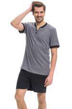 Dn-nightwear PMB.9282 piżama dark grey