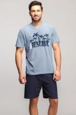 Rossli SAM-PY 037 piżama niebieski