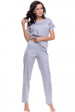 Dn-nightwear PM.9092 piżama light grey