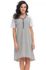 Dn-nightwear TM.9207 koszula dark grey
