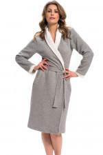 Dn-nightwear SWP.9276 szlafrok dark grey