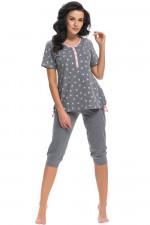 Dn-nightwear PM.9203 piżama grey-p