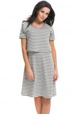 Dn-nightwear TCB.9211 koszula dark grey
