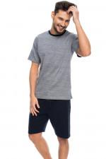 Rossli SAM-PY 086 piżama grafitowy melange