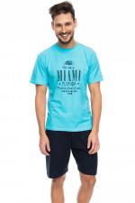 Rossli SAM-PY 087 piżama niebieski jasny