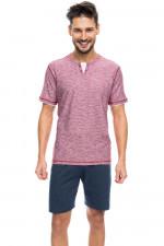 Rossli SAM-PY 091 piżama czerwony