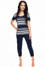 Rossli SAL-PY 1040 piżama ciemny niebieski
