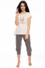 Rossli SAL-PY 1052 piżama beżowy
