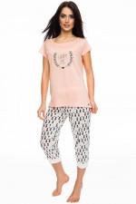 Rossli SAL-PY 1064 piżama łososiowy