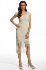 Ennywear 210029 sukienka jasny beż