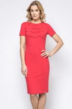 Ennywear 230133 sukienka malinowy