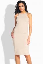Lemoniade L185 sukienka beżowy