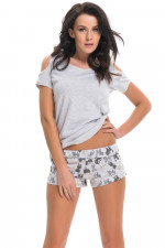 Dn-nightwear PM.9246 piżama grey