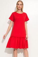Makadamia M347 sukienka czerwony
