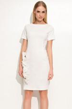 Makadamia M350 sukienka ecru