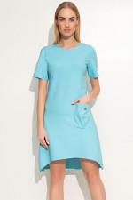 Makadamia M360 sukienka błękitny