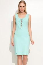 Makadamia M362 sukienka miętowy